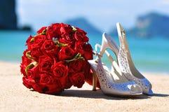 Huwelijk op het strand Royalty-vrije Stock Fotografie