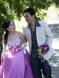 Huwelijk paar-6 Stock Afbeelding