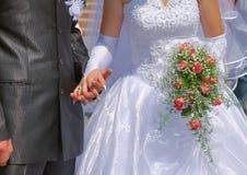 Huwelijk toneel Royalty-vrije Stock Foto