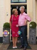 Huwelijk van bejaarde mensen Royalty-vrije Stock Foto's