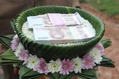 Huwelijk voor Thailand Stock Foto