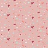 Huwelijks abstract naadloos patroon in pastelkleur zachte kleuren stock illustratie