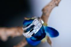 Huwelijks bruids belangrijkst voorwerp Stock Foto's