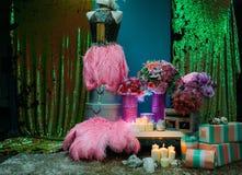 Huwelijks bruids belangrijkst voorwerp Stock Fotografie