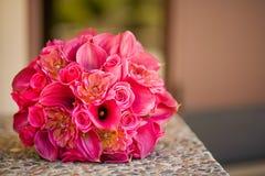 Huwelijks Bruids Bloemen Royalty-vrije Stock Afbeeldingen