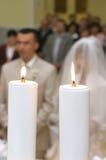 huwelijks ceremonie Stock Foto