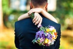 Huwelijks helder boeket Stock Foto