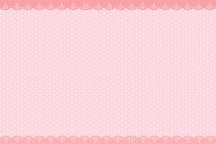 Huwelijks roze Kaart vector illustratie