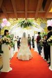 huwelijks scène royalty-vrije stock foto