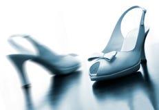 huwelijks schoenen Royalty-vrije Stock Foto's