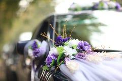 Huwelijksauto Stock Afbeelding