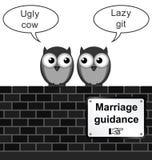 Huwelijksbegeleiding Royalty-vrije Stock Foto