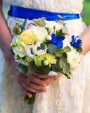 Huwelijksbloemen royalty-vrije stock afbeelding