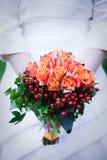 Huwelijksbloemen Royalty-vrije Stock Foto