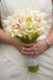 Huwelijksboeket royalty-vrije stock afbeelding