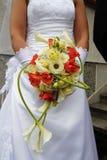Huwelijksboeket Royalty-vrije Stock Foto's