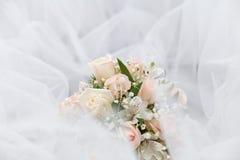 Huwelijksboeket Royalty-vrije Stock Afbeeldingen
