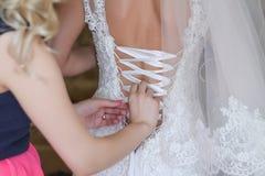 Huwelijksboeket van de bruid Stock Afbeeldingen