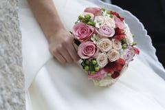 Huwelijksbos en bruid. Stock Fotografie