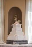 Huwelijkscake Royalty-vrije Stock Afbeeldingen