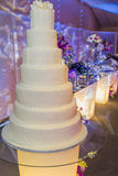 Huwelijkscake royalty-vrije stock foto's