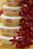 Huwelijkscake Royalty-vrije Stock Foto