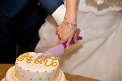 Huwelijkscakes Stock Afbeeldingen