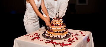 Huwelijkscakes Royalty-vrije Stock Fotografie