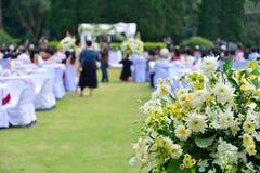 Huwelijksceremonie Royalty-vrije Stock Foto