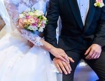 Huwelijksceremonie Stock Foto's