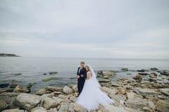 Huwelijksdag in Odessa Royalty-vrije Stock Foto