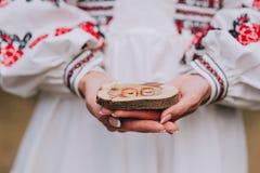 Huwelijksdecor, trouwringen stock afbeeldingen