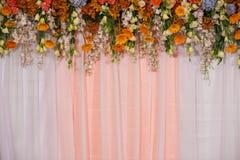 Huwelijksdecoratie royalty-vrije stock afbeelding
