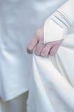 Huwelijksdrees Stock Foto