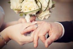 Huwelijksfoto Stock Foto