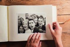 Huwelijksfoto's royalty-vrije stock fotografie