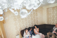 Huwelijksgeluk Stock Fotografie