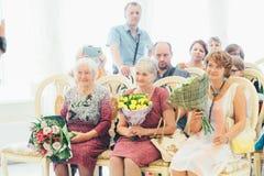 Huwelijksgeluk Stock Foto's