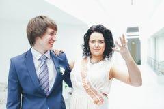 Huwelijksgeluk Stock Afbeeldingen