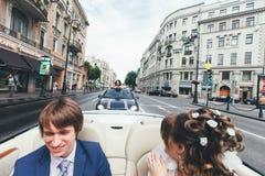 Huwelijksgeluk Royalty-vrije Stock Afbeeldingen
