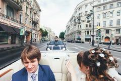 Huwelijksgeluk Royalty-vrije Stock Afbeelding