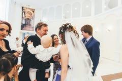 Huwelijksgelukwensen Royalty-vrije Stock Afbeeldingen