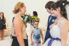 Huwelijksgelukwensen Royalty-vrije Stock Fotografie