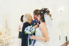Huwelijksgelukwensen Royalty-vrije Stock Afbeelding