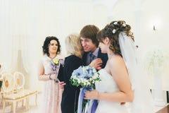 Huwelijksgelukwensen Royalty-vrije Stock Foto