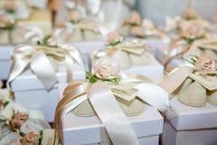 Huwelijksgiften voor gast Royalty-vrije Stock Foto