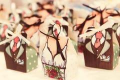 Huwelijksgunsten Stock Foto's
