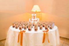 Huwelijksgunsten voor giften Royalty-vrije Stock Foto