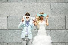 Huwelijksinschrijvingen Royalty-vrije Stock Afbeeldingen