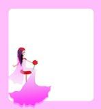 Huwelijkskaart Royalty-vrije Stock Afbeelding